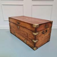 Camphorwood Military Trunk Owned by First World War Veteran (2 of 7)
