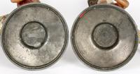 Pair of Continental, Probably French, Cold Painted Metal Figural Candlesticks (15 of 27)
