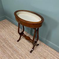 Stunning Victorian Mahogany Antique Bijouterie Table (4 of 7)