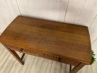 Oak Desk Side Table (2 of 4)