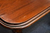 Late Victorian Mahogany Pull Out Three Leaf Dining Table (14 of 14)