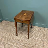 Victorian Mahogany Antique Drop Leaf Table (6 of 6)