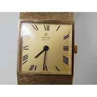 9ct Gold Gentleman's Wristwatch on 9ct Gold Bracelet by Marvin (3 of 7)