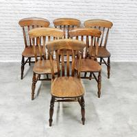6x Windsor Slatback Kitchen Chairs (6 of 7)