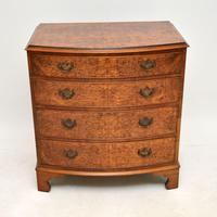 Georgian Style Burr Walnut Chest of Drawers (2 of 12)