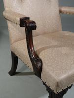 An Early 20th Century Mahogany Framed Gainsborough Armchair (5 of 5)