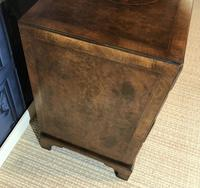 George III Style Burr Walnut Desk c.1920 (18 of 20)