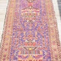 2.8m Long Antique Persian Runner Rug (3 of 10)