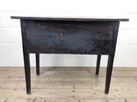 Early 19th Century Oak Lowboy Side Table (11 of 13)