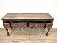 Antique 18th Century Geometric Dresser Base (7 of 10)