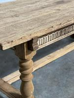 Superb Quality Large Bleached Oak Farmhouse Dining Table (8 of 32)