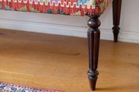 Large Antique Afghan Kelim Foot Stool (7 of 11)