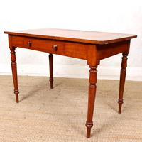 Edwardian Mahogany Writing Desk Table (7 of 12)