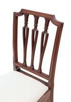 19th Century Mahogany Dining Bedroom, Hall Chair (6 of 6)