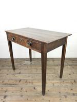 Georgian Oak Single Drawer Side Table (3 of 10)