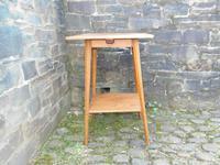 Arts & Crafts Golden Oak Table (5 of 12)