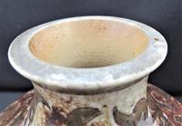 Martin Brothers, salt glazed stoneware vase, signed and dated 1890, Martinware (2 of 6)
