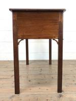 Antique Oak Side Table (8 of 9)