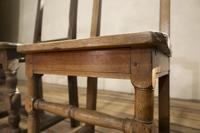 Set of Four French 18th Century Backstool Chairs (6 of 13)