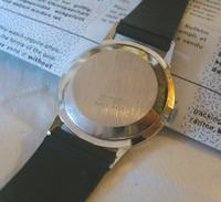 Vintage Swiss Wristwatch 1970s Gentlemans 17 Jewel Limit With Castrol Logo Dial Fwo (7 of 12)