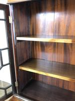 Mahogany Glazed Bookcase or Display Cabinet (9 of 12)