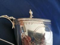 Georgian Silver Oval Mustard Pot (6 of 9)