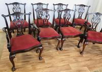 Set of Eight Oversized Dining Chairs (5 of 18)