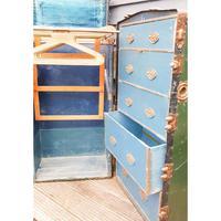 Antique Travel/ Steamer Trunk Wardrobe (14 of 16)