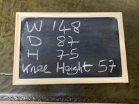 Large Oak 6 Drawer Writing Table (12 of 16)