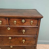 18th Century Country House Antique Chest on Stand (3 of 7)