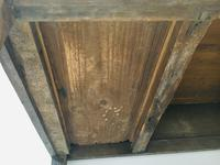 Wonderful George III Oak Sideboard Server / Buffet with Rare Cellaret Drawer c.1760-1820 (10 of 12)