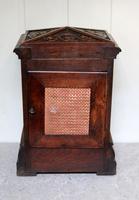 Solid Carved Oak Bracket Clock (9 of 11)