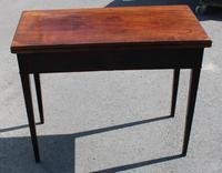 1850's Victorian Mahogany Side Table (4 of 4)