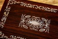 MOP Rosewood and Sewing/Jewellery Box 1840 (8 of 11)