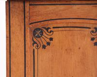19th Century Pitch Pine Bedside Cabinet (9 of 13)