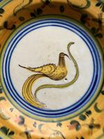A 19th Century Majolica plate. (6 of 6)