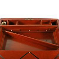 Campaign Style Mahogany Box Desk (8 of 9)