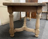 French Rustic Bleached Oak Farmhouse Kitchen Table (21 of 23)