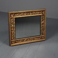 Antique Gilded & Ebonised Rectangular Wall Mirror (2 of 14)