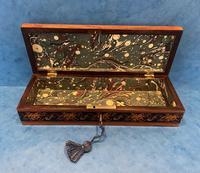 Victorian Satinwood Glove Box With Tunbridge Ware Inlay (2 of 12)