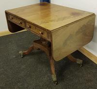Antique Regency Mahogany Sofa Table (10 of 13)