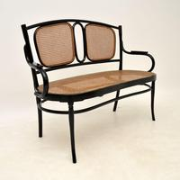 Antique Bentwood Thonet Style Settee (2 of 12)