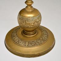 Antique Solid Brass Floor Lamp (8 of 9)