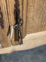 French Bleached Oak Sideboard or Dresser Base (9 of 23)