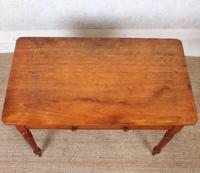 Edwardian Mahogany Writing Desk Table (3 of 12)
