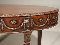 Well Carved Late 19th Century Mahogany Centre Standing Table (6 of 7)