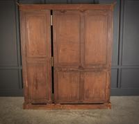 Large Triple Satinwood Open Bookcase (6 of 7)