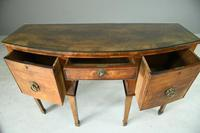 Antique Bow Front Sideboard (3 of 11)