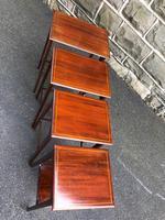Edwardian  Inlaid Mahogany Nest 4 Tables (7 of 12)