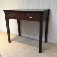 Early 19th Century Oak Side Table (7 of 10)